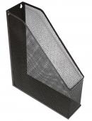 Лоток для паперів вертикальний Optima, метал сітка, чорний