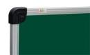 Дошка для крейди 90х120 см. Емальована сталь ABC